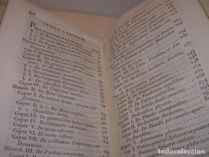Libros antiguos: LIBRO TAPAS DE PIEL..ASTRONOMIA - FISICA - HIDROESTATICA, ETC. CON 5 LAMINAS DESPLEGABLES..AÑO 1824. - Foto 12 - 162140238