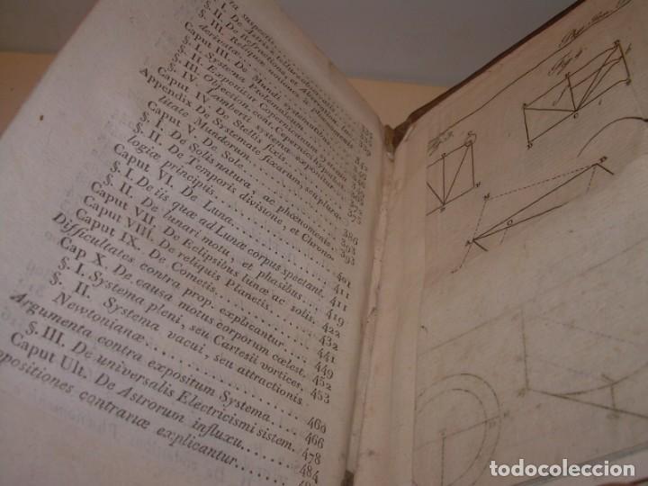 Libros antiguos: LIBRO TAPAS DE PIEL..ASTRONOMIA - FISICA - HIDROESTATICA, ETC. CON 5 LAMINAS DESPLEGABLES..AÑO 1824. - Foto 13 - 162140238