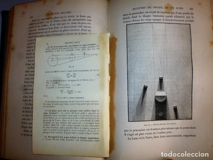 Libros antiguos: LE CIEL. NOTIONS D´ASTRONOMIE - Foto 8 - 162496214