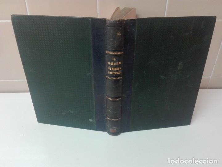 Libros antiguos: LA PLURALIDAD DE MUNDOS HABITADOS FLAMMARION ILUSTRADO PRIMERA EDICION 1866 - Foto 2 - 163987182