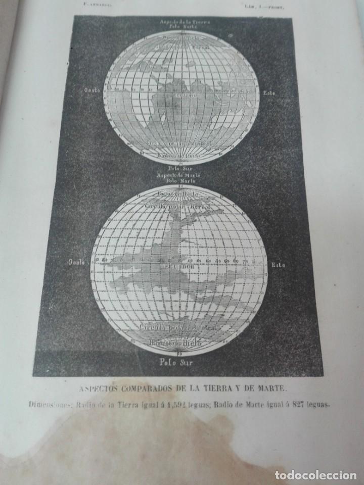 Libros antiguos: LA PLURALIDAD DE MUNDOS HABITADOS FLAMMARION ILUSTRADO PRIMERA EDICION 1866 - Foto 4 - 163987182