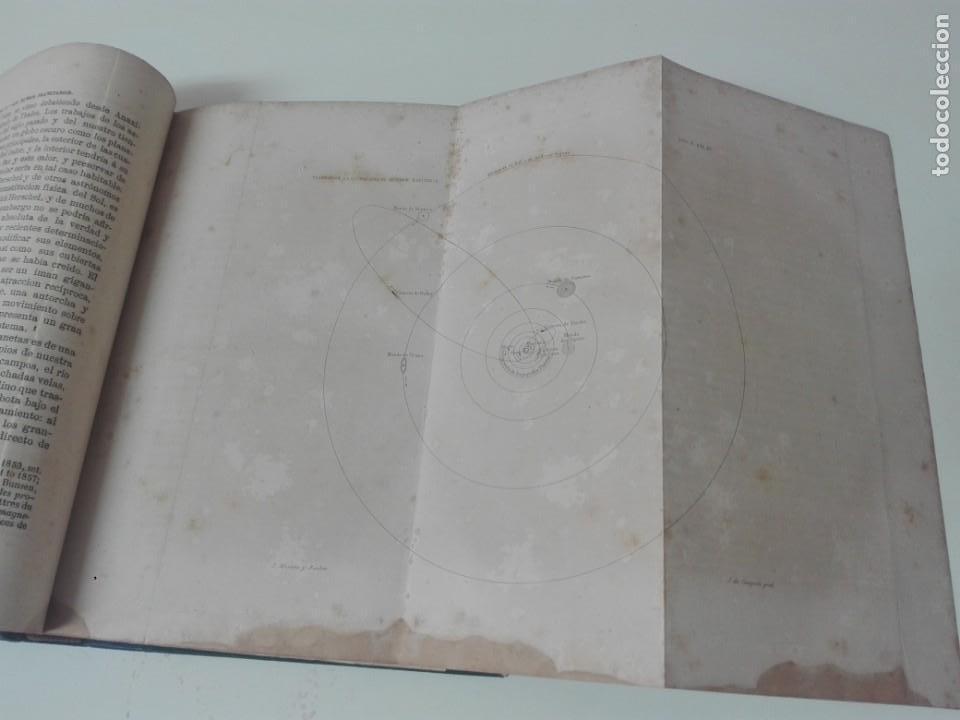 Libros antiguos: LA PLURALIDAD DE MUNDOS HABITADOS FLAMMARION ILUSTRADO PRIMERA EDICION 1866 - Foto 5 - 163987182
