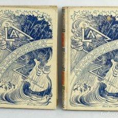 Libros antiguos: LA ATMÓSFERA-CAMILO FLAMMARIÓN-MONTANER Y SIMON 1902-2 TOMOS. Lote 164197038