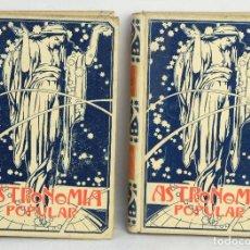Libros antiguos: ASTRONOMIA POPULAR-AUGUSTO T.ARCIMIS-ED.MONTANER Y SIMIN, BARCELONA 1901. Lote 164198398