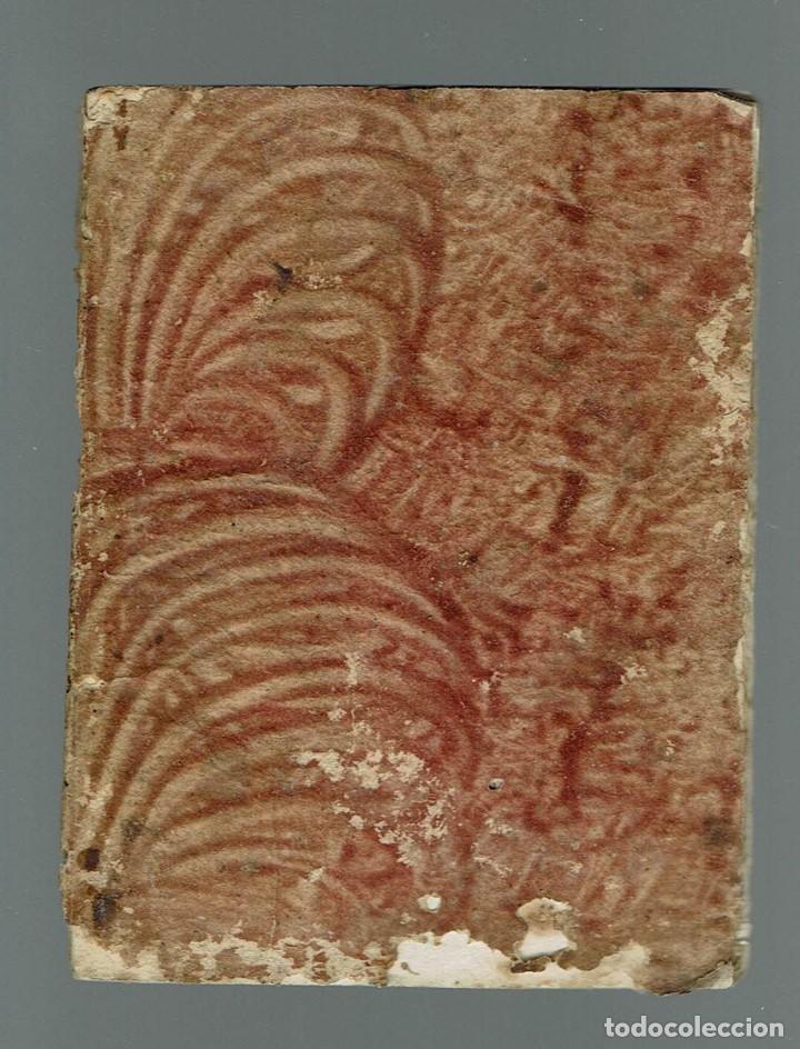 Libros antiguos: TABLA PARA SABER EN TODOS LOS DÍAS DEL AÑO A QUE HORA Y MINUTOS SALE Y SE PONE.... 1848(MENORCA.15.7 - Foto 2 - 168318956