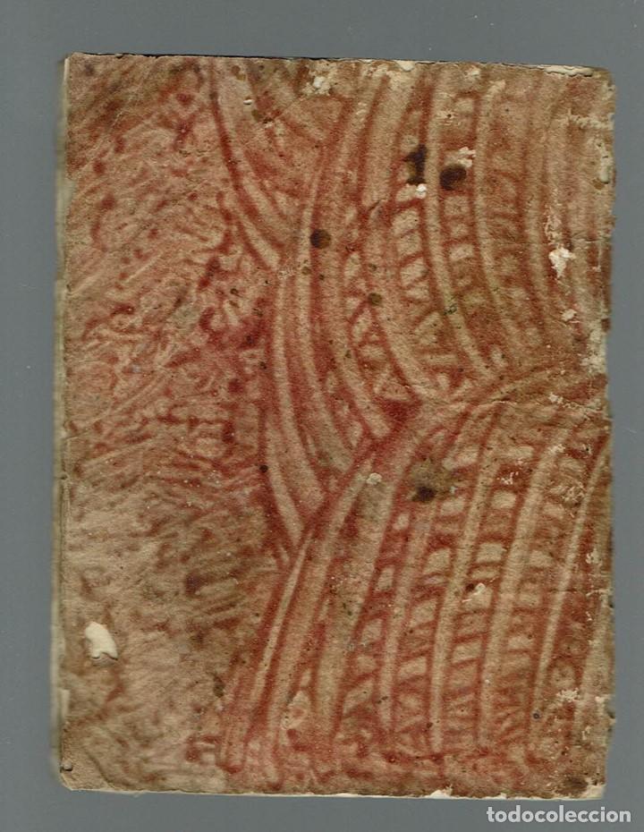 Libros antiguos: TABLA PARA SABER EN TODOS LOS DÍAS DEL AÑO A QUE HORA Y MINUTOS SALE Y SE PONE.... 1848(MENORCA.15.7 - Foto 4 - 168318956