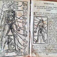 Libros antiguos: LIBRO ASTRONOMIA,LUNARIO PRONOSTICO PERPETUO GENERAL,AÑO 1768, SIGLO XVIII,ECLIPSES,ASTROS,PLANETAS. Lote 170552904