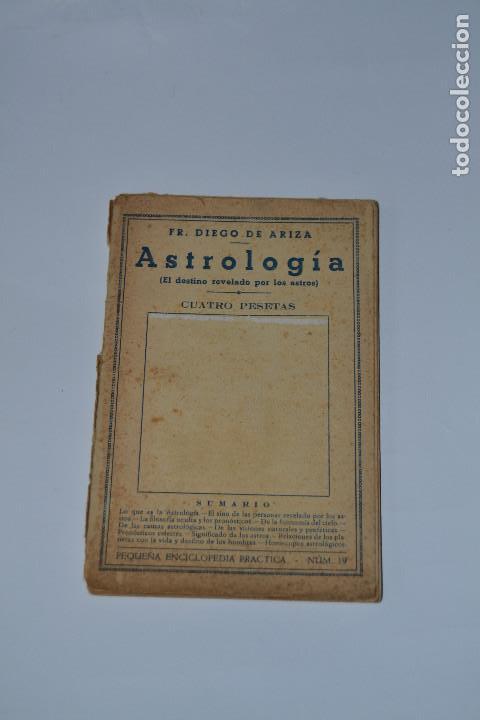 ASTROLOGIA DE DIEGO DE ARTEA (Libros Antiguos, Raros y Curiosos - Ciencias, Manuales y Oficios - Astronomía)