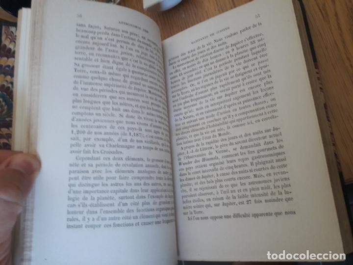 Libros antiguos: LES MONDES IMAGINAIRES ET LES MONDES RÉELS, Flammarion, Académique Didier et Cie,Paris 1866 - Foto 9 - 173001997