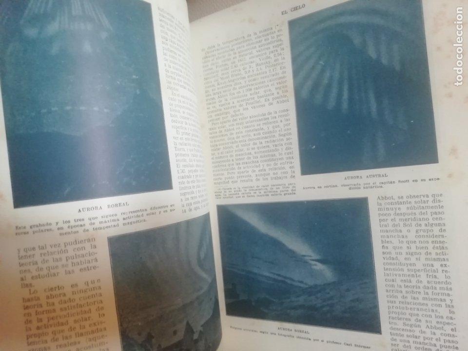 Libros antiguos: El Cielo. Novisima Astronomía Ilustrada. Editorial Seguí. 1920 - Foto 4 - 174466498
