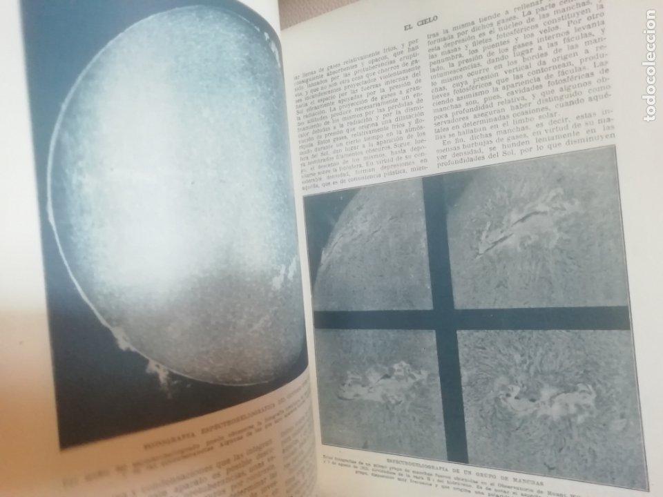 Libros antiguos: El Cielo. Novisima Astronomía Ilustrada. Editorial Seguí. 1920 - Foto 9 - 174466498