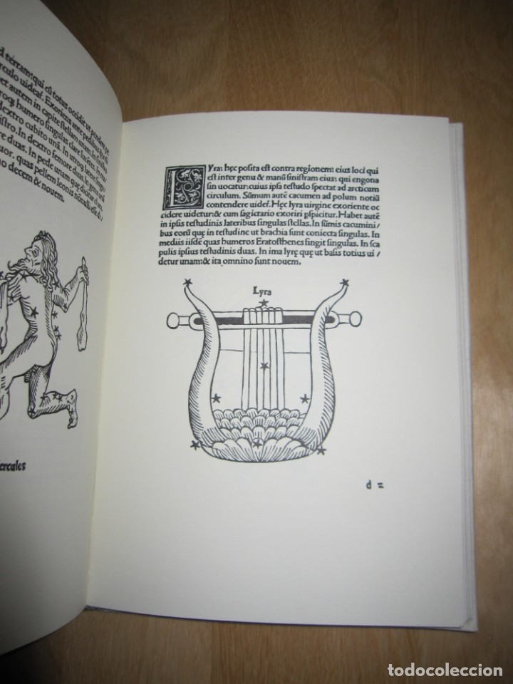 Libros antiguos: Poeticon astronomicon. Cayo Julio Higinio. Facsímil - Foto 3 - 174584834