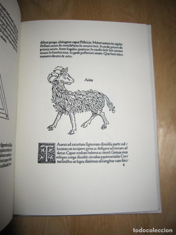 Libros antiguos: Poeticon astronomicon. Cayo Julio Higinio. Facsímil - Foto 4 - 174584834