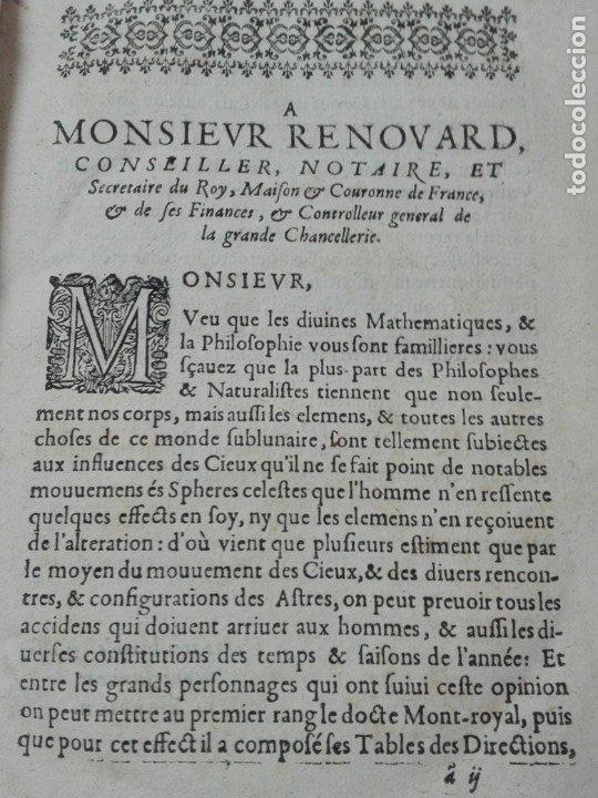 Libros antiguos: Las tablas de Jean de Mont-Royal Henrion año 1625 regiomontanus obra unica - Foto 5 - 174681507