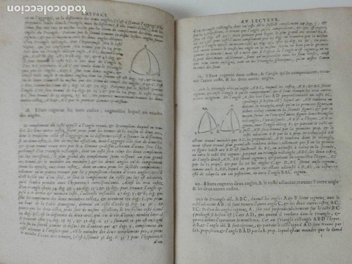 Libros antiguos: Las tablas de Jean de Mont-Royal Henrion año 1625 regiomontanus obra unica - Foto 6 - 174681507