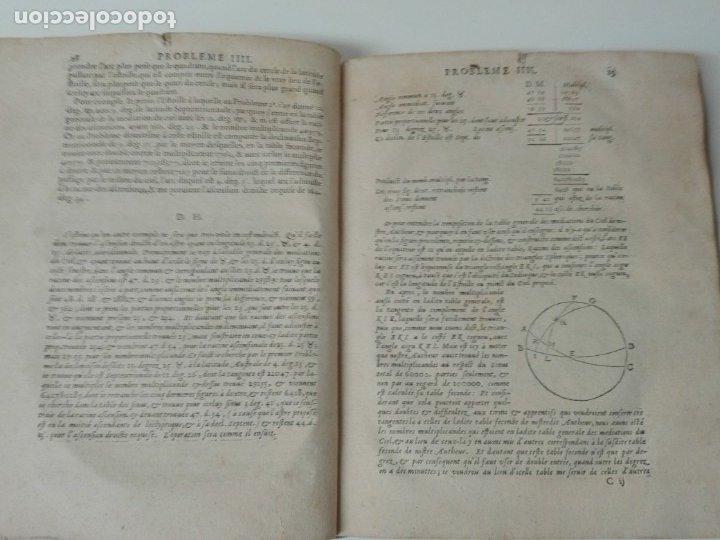 Libros antiguos: Las tablas de Jean de Mont-Royal Henrion año 1625 regiomontanus obra unica - Foto 7 - 174681507
