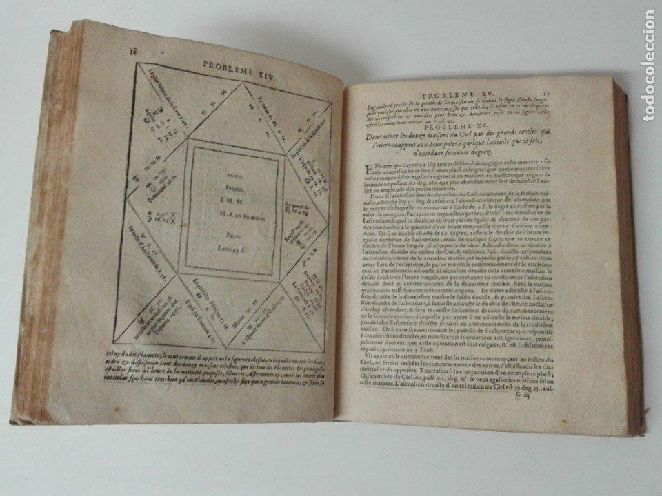 Libros antiguos: Las tablas de Jean de Mont-Royal Henrion año 1625 regiomontanus obra unica - Foto 8 - 174681507