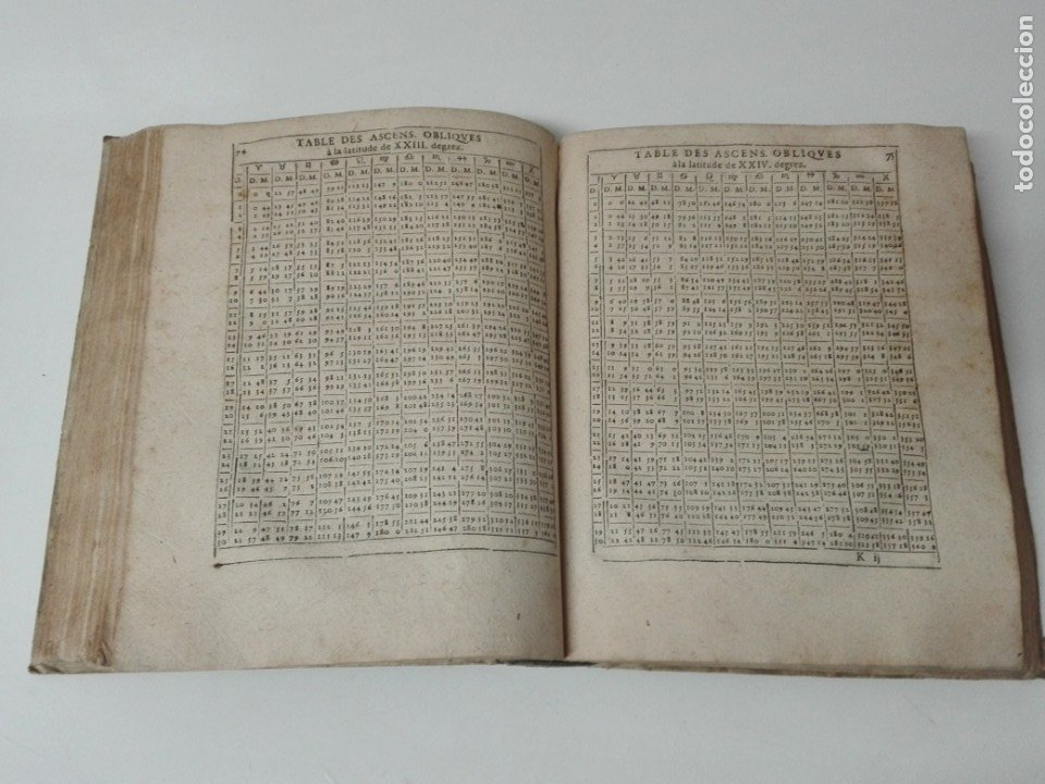Libros antiguos: Las tablas de Jean de Mont-Royal Henrion año 1625 regiomontanus obra unica - Foto 14 - 174681507
