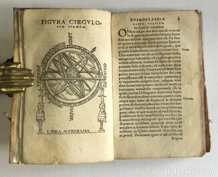 Libros antiguos: DE PRINCIPIIS ASTRONOMIAE ET COSMOGRAPHIAE. Deque usu Globi Cosmographici... GEMMA FRISIUS. - Foto 3 - 109024360