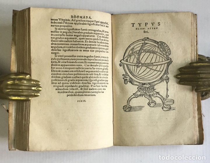 Libros antiguos: DE PRINCIPIIS ASTRONOMIAE ET COSMOGRAPHIAE. Deque usu Globi Cosmographici... GEMMA FRISIUS. - Foto 11 - 109024360