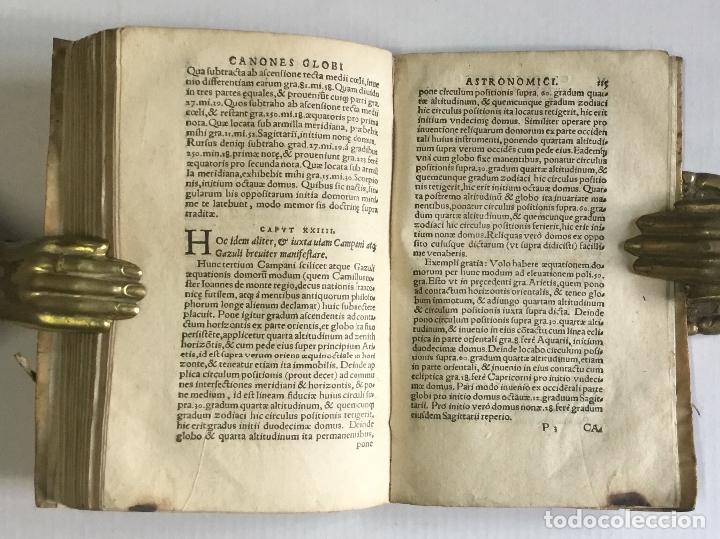 Libros antiguos: DE PRINCIPIIS ASTRONOMIAE ET COSMOGRAPHIAE. Deque usu Globi Cosmographici... GEMMA FRISIUS. - Foto 12 - 109024360