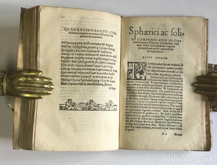 Libros antiguos: DE PRINCIPIIS ASTRONOMIAE ET COSMOGRAPHIAE. Deque usu Globi Cosmographici... GEMMA FRISIUS. - Foto 13 - 109024360