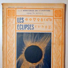 Libros antiguos: MOREUX, ABBÉ TH. (DIRECTOR) - LES ÉCLIPSES - PARIS C. 1910 - ILUSTRADO. Lote 176043818