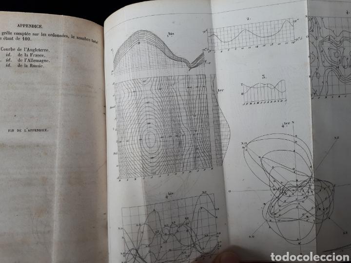 Libros antiguos: Libro de Meteorologia año 1858 escrito en frances. - Foto 2 - 176570324