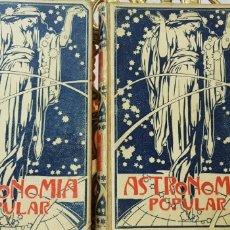 Libros antiguos: ASTRONOMIA POPULAR-AUGUSTO T.ARCIMIS-ED.MONTANER Y SIMON, BARCELONA 1901. Lote 178658452