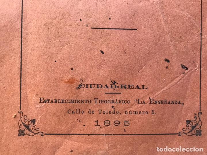 Libros antiguos: Apuntes de cosmología Liberio García tapia. Ciudad real. 1895. Raro. Difícil - Foto 2 - 178992455