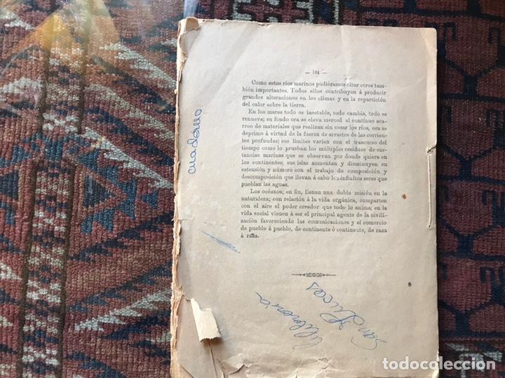 Libros antiguos: Apuntes de cosmología Liberio García tapia. Ciudad real. 1895. Raro. Difícil - Foto 4 - 178992455