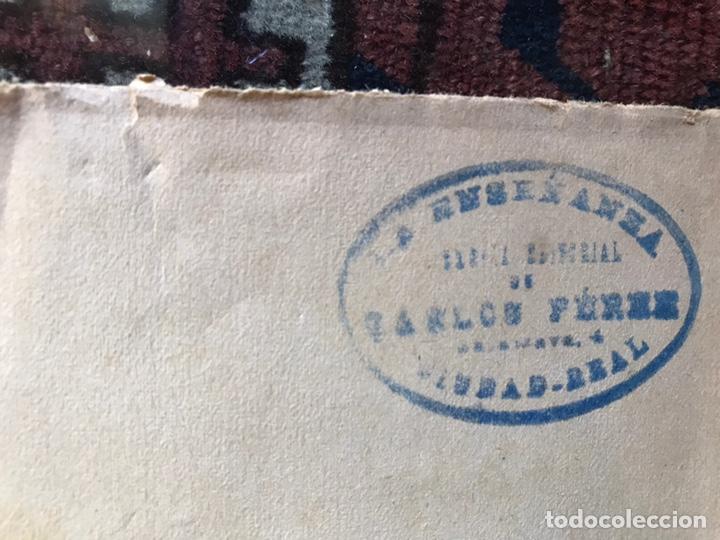 Libros antiguos: Apuntes de cosmología Liberio García tapia. Ciudad real. 1895. Raro. Difícil - Foto 6 - 178992455
