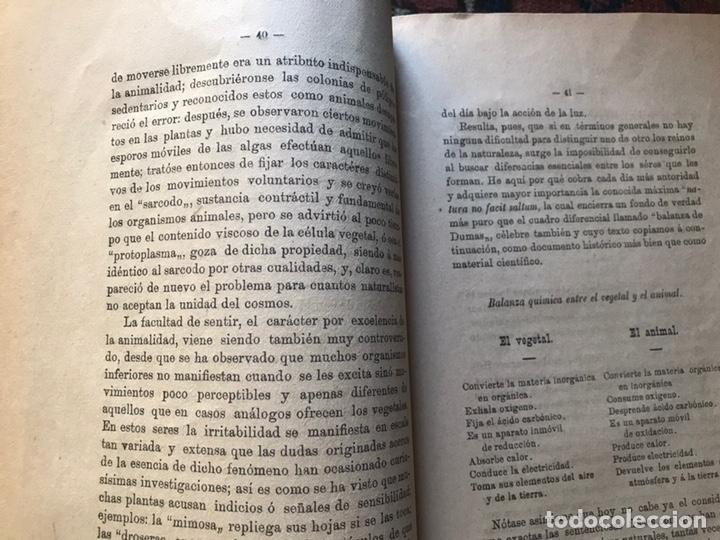 Libros antiguos: Apuntes de cosmología Liberio García tapia. Ciudad real. 1895. Raro. Difícil - Foto 12 - 178992455