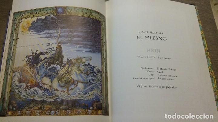 Libros antiguos: El zodiaco lunar celtico - Foto 4 - 180434657