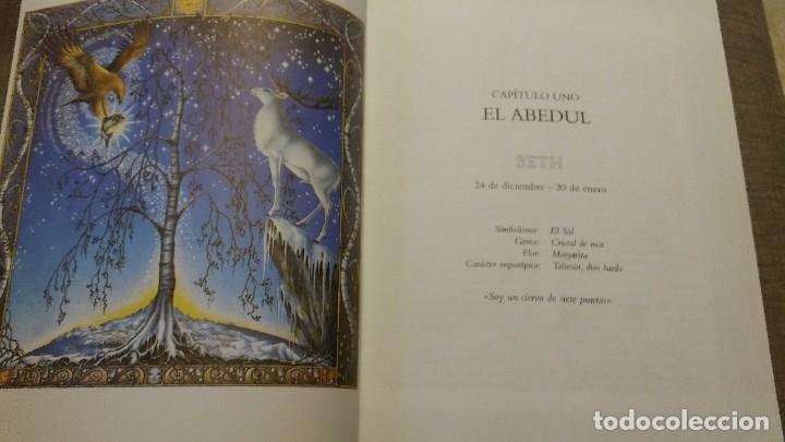 Libros antiguos: El zodiaco lunar celtico - Foto 5 - 180434657