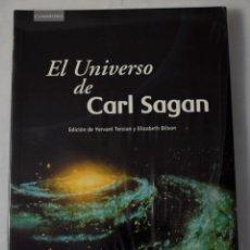 Libros antiguos: EL UNIVERSO DE CARL SAGAN. VARIOS AUTORES. Lote 211719044
