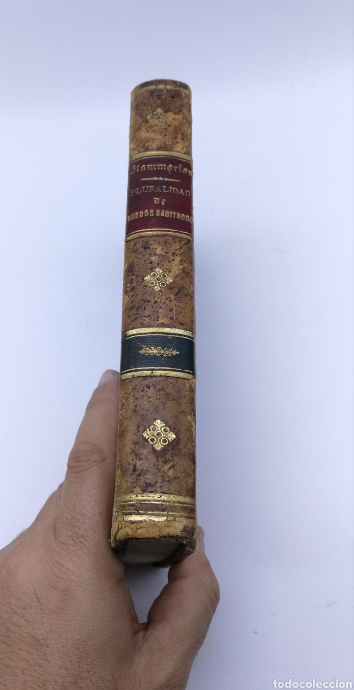 LA PLURALIDAD DE MUNDOS HABITADOS CAMILO FLAMMARION 1877 (Libros Antiguos, Raros y Curiosos - Ciencias, Manuales y Oficios - Astronomía)
