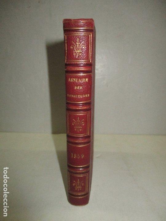 ANNUAIRE POUR LAN 1859 PAR LE BUREAU DES LONGITUDES. 1859. (Libros Antiguos, Raros y Curiosos - Ciencias, Manuales y Oficios - Astronomía)