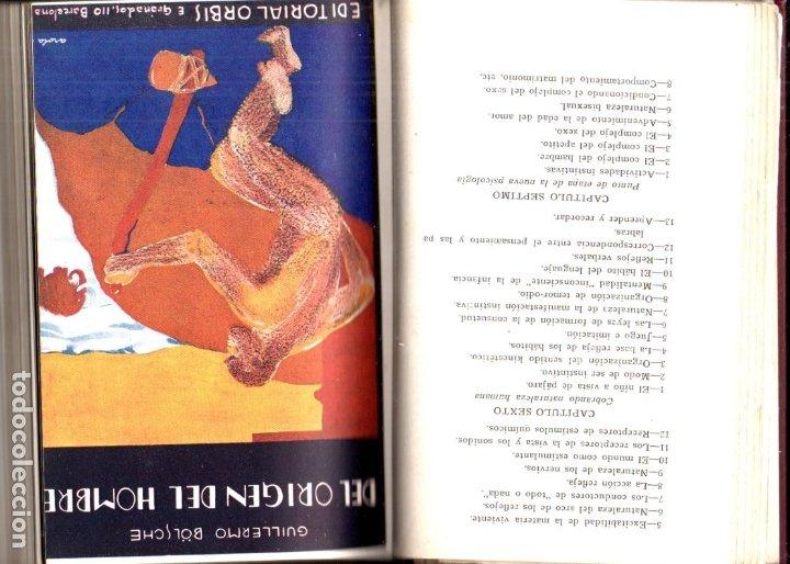 Libros antiguos: BOLSCHE - MEYER - BURGEL : UNIVERSO, ORIGEN DEL HOMBRE, CREACIÓN DE LA TIERRA, FIN DEL MUNDO (1930) - Foto 3 - 182055406
