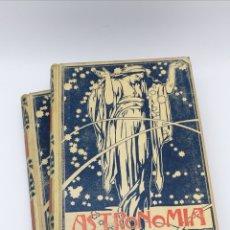 Libros antiguos: ASTRONOMIA POPULAR 1901 SIMON Y MONTANER. Lote 182352151