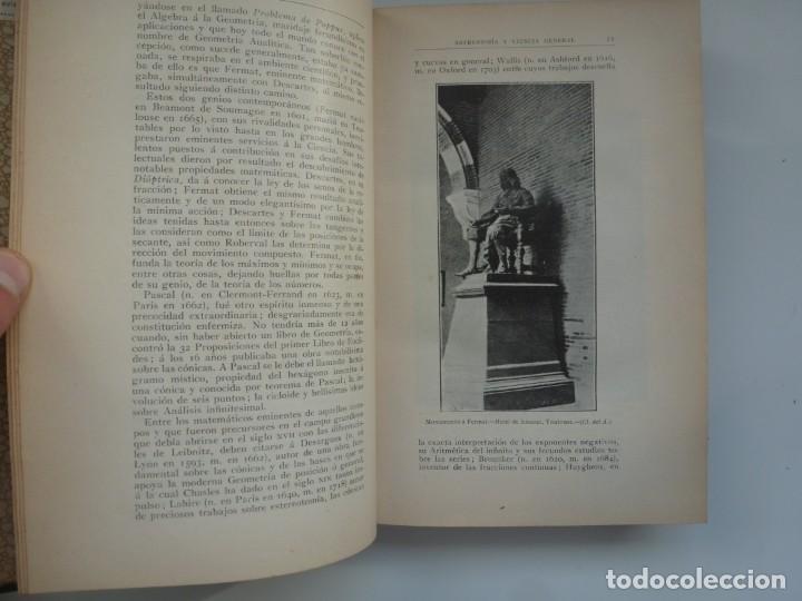 Libros antiguos: ASTRONOMÍA Y CIENCIA GENERAL. JOSÉ COMAS SOLÁ. 1907 - Foto 5 - 184326606