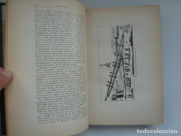 Libros antiguos: ASTRONOMÍA Y CIENCIA GENERAL. JOSÉ COMAS SOLÁ. 1907 - Foto 6 - 184326606
