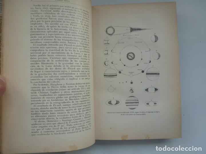 Libros antiguos: ASTRONOMÍA Y CIENCIA GENERAL. JOSÉ COMAS SOLÁ. 1907 - Foto 7 - 184326606