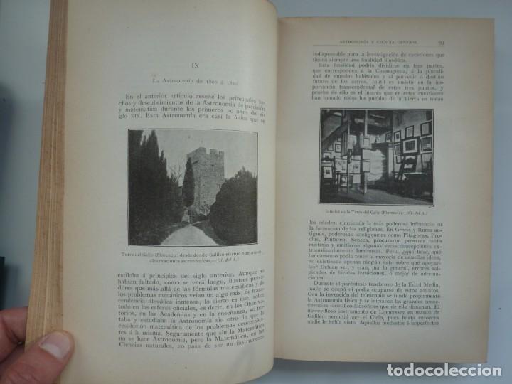 Libros antiguos: ASTRONOMÍA Y CIENCIA GENERAL. JOSÉ COMAS SOLÁ. 1907 - Foto 8 - 184326606
