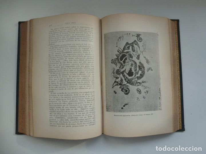 Libros antiguos: ASTRONOMÍA Y CIENCIA GENERAL. JOSÉ COMAS SOLÁ. 1907 - Foto 9 - 184326606