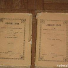 Libros antiguos: ASTRONOMIA FISICA-NOCIONES DE ESTA CIENCIA SUBLIME DEL AÑO 1851 -TOMOS II Y III. Lote 184826720