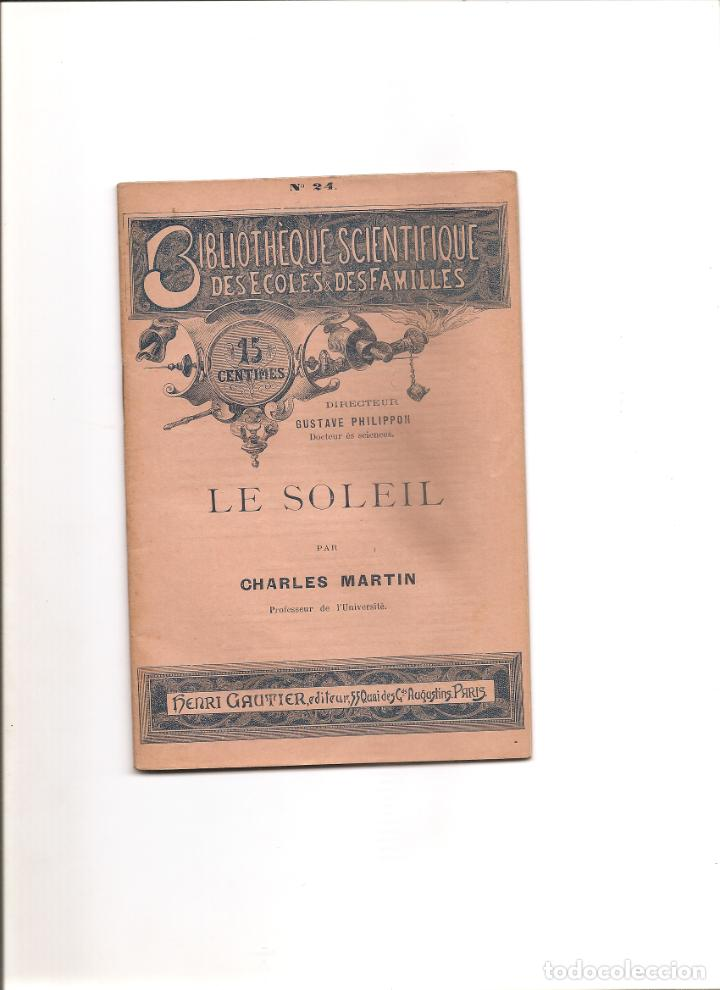 53.LE SOLEIL. EL SOL (Libros Antiguos, Raros y Curiosos - Ciencias, Manuales y Oficios - Astronomía)