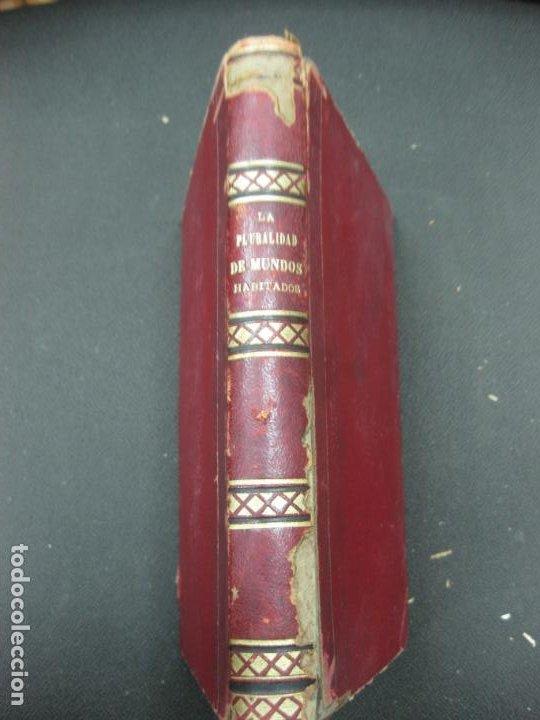 LA PLURALIDAD DE MUNDOS HABITADOS ANTE LA FE CATOLICA. NICETO ALONSO PERUJO. IMP. GASPAR EDIT.1877. (Libros Antiguos, Raros y Curiosos - Ciencias, Manuales y Oficios - Astronomía)