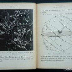 Libros antiguos: 1936 - ASTRONOMÍA - LIBRO ANTIGUO ILUSTRADO CON 55 FIGURAS - ESTRELLAS, CONSTELACIONES, PLANETAS . Lote 190597230