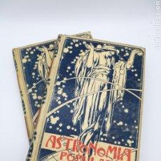 Libros antiguos: ASTRONOMIA POPULAR 1901 SIMON Y MONTANER. Lote 190833301